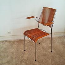 Chaise fauteuil scoubidou vintage