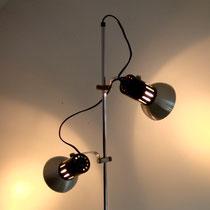 lampadaire vintage tout métal