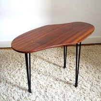 table basse tripode vintage