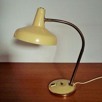 Lampe de bureau flexible  laiton vintage