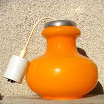 suspension orange années 70