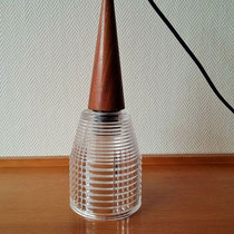 Suspension lustre scandinave vintage