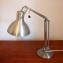 lampe de bureau industrielle alu brossé