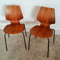 Paire chaises style Arne Jacobsen