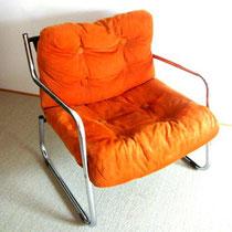 chauffeuse /fauteuil chrome vintage