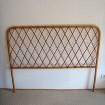Tête de lit rotin vintage