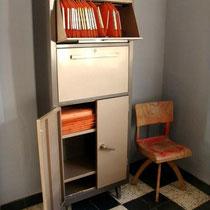 meuble classeur industriel années 50
