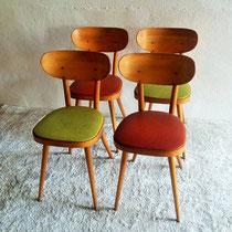 Chaises bistro Baumann vintage