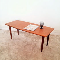 Table basse teck type scandinave