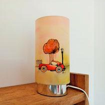 Lampe veilleuse bolide enfant vintage