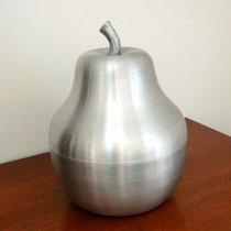 seau à glaçon poire aluminium brossé