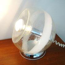 lampe boule années 70