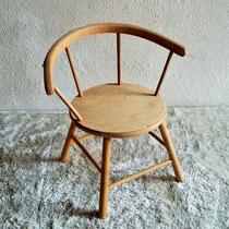 Petite chaise enfant bois vintage