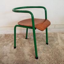 Chaise enfant industrielle vintage