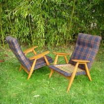 Paire de fauteuils Guariche SK640, édité par Steiner en 1953