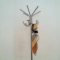 Porte manteaux perroquet vintage