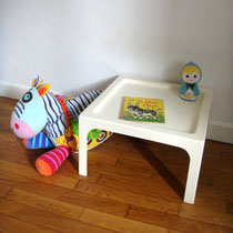Petite table résine style Berthier