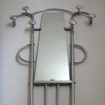 vestiaire porte manteau aluminium