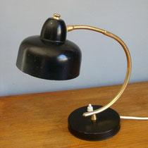lampe années 50 noir vintage