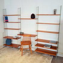 Etagère bibliothèque string vintage