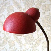 Lampe de bureau vintage rouge