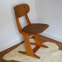 Chaise d'école Casala vintage