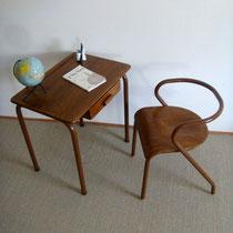 Bureau et chaise Mullca 300 Jacques Hitier