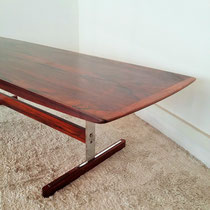 Table basse scandinave palissandre de Rio