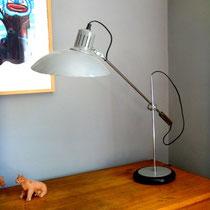 Lampe de bureau à balancier vintage
