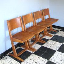 Série de chaises Casala vintage