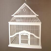cage à oiseau bois
