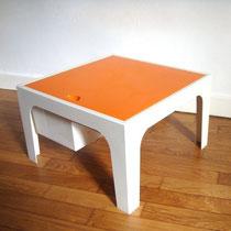 table travailleuse vintage années 70