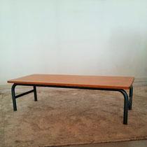 Table basse école vintage