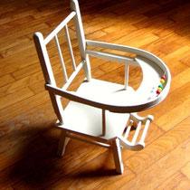 Chaise poupée vintage
