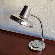 Lampe de bureau chrome vintage