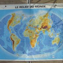 planisphère carte d'école
