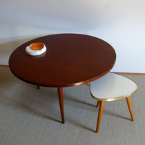 Table bois tripode vintage