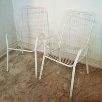 Paire de fauteuils haut Emu Rio vintage