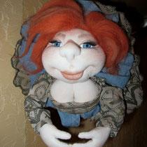Кукла на удачу. Должна быть повернута к хозяину лицом... частная коллекция Ростов-на-Дону