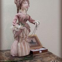 Интерьерная кукла Мадам Время. Викторианский стиль