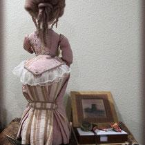 Интерьерная кукла Мадам Время.