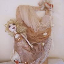 Кукла в интерьере,,Осенний ветер,, собственность автора
