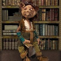 Чудельфик Кукольник-Скузочник любит читать сказки
