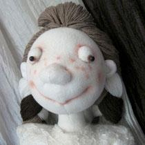 ШокоФея. Каркасная текстильная кукла. Собственность автора