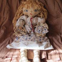 Чердачная куколка Ладушка