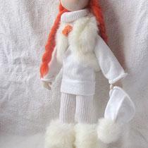 Интерьерная кукла Снежка. резерв
