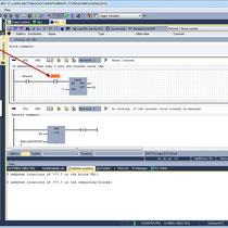 WinSPS-S7, block editor (LAD)