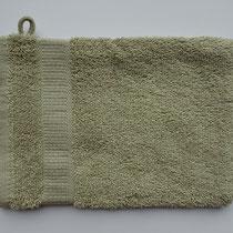 Washandje in 100% bio-katoen 580 g/m², 16 x 21 cm, zandbeige, Cotonea
