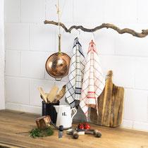 Keukenhanddoeken Helsinki, Living Crafts