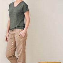T-shirt Ava en lange broek Cora, Living Crafts